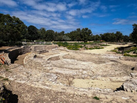 Archeologists Unearth Largest Roman Basilica Ever Found in Israel—Dated 2,000 Years Old-BY EMG INSPIRED STAFF
