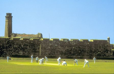 The Old and Sturdy Dutch Fort in Galle